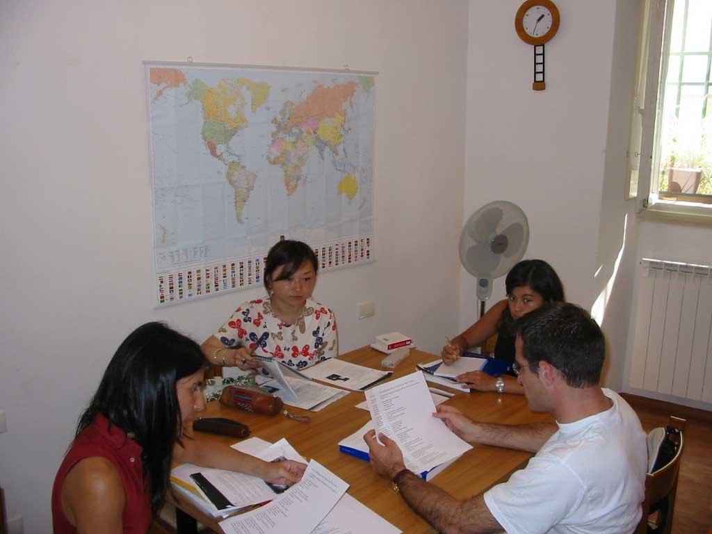 English In Italian: Learn Italian In Florence Italy, Italian Language School
